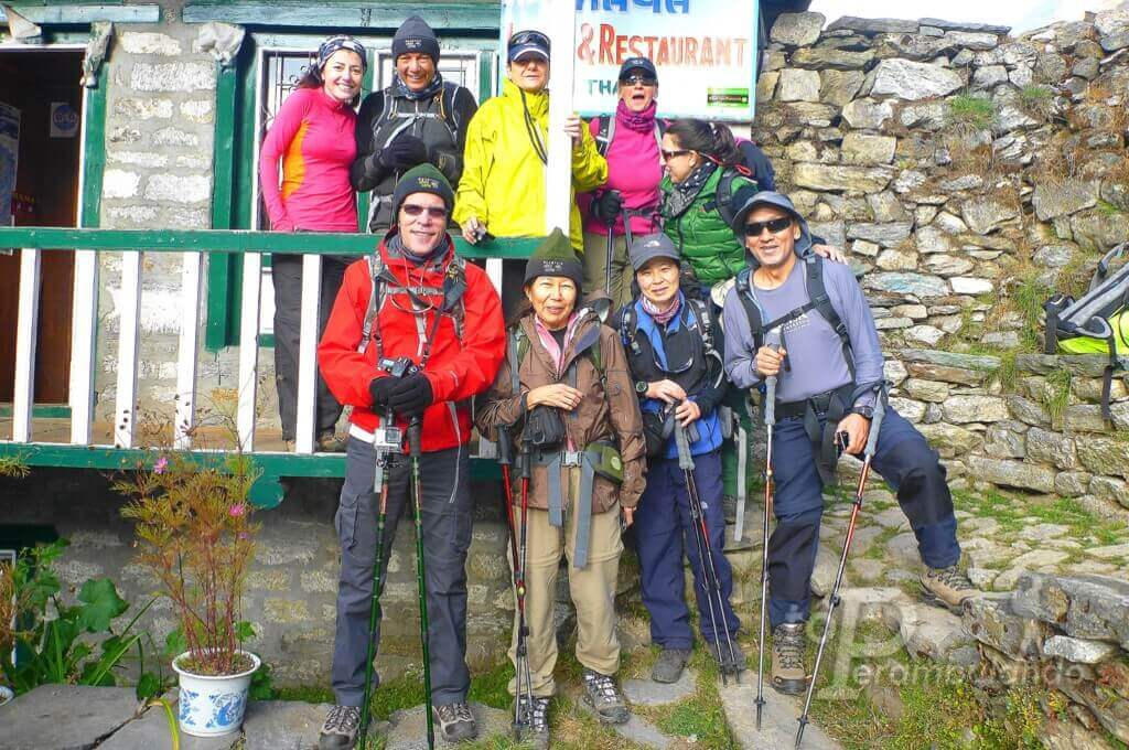 trekking ao campo base do everest